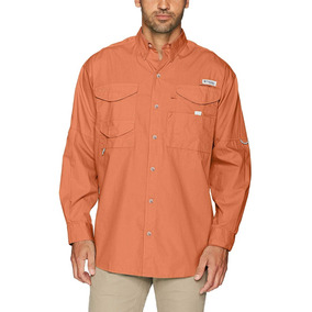 Columbia Pfg Sportswear Bonehead Camisa Pesca Manga Larga L bcee3392c4f