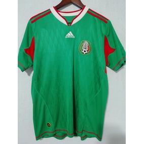 Playera Dela Seleccion Mexicana Del Mundial De Sudafrica en Mercado ... 45846458c2b58
