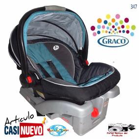 Portabebe Graco Con Base De Vehiculo Impecable,.