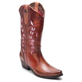 ccc864165aeb0 Botas Country Feminina Texana Anaconda Feminino - Sapatos no Mercado ...