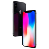 Apple iPhone X A1901 64gb Tela Oled 5.8 12mp/7mp Ios Cinza