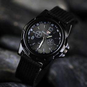 Reloj Militar Tactico Tela Hombre Moda Caballero Scout Army