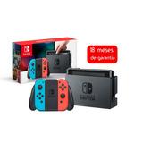 Nintendo Switch Joy-con Neon Blue & Red 18 Meses De Garantia