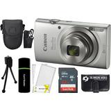 Canon Powershot Elph 180 20mp 8x Zoom Digital Camara