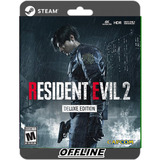Resident Evil 2 Deluxe Pc Steam Offline