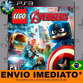 Jogo Lego Marvels Avengers Ps3 Digital Psn Português Br