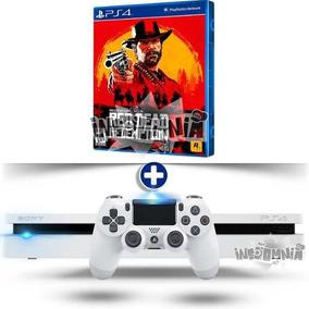 Ps4 Playstation 4 500gb Branco Modelo 2116 + Garantia 1 Ano