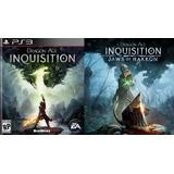 Dragon Age Inquisition + Expansion Fauces De Hakkon ~ Ps3
