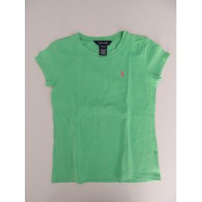 Franela Verde Polo Para Niña Polo Ralph Lauren  2  2189ef6d1a782