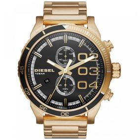 4d4178873da Relógio Diesel Dz4268 Cronógrafo Dourado - Relógios no Mercado Livre ...