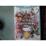 Super Smash Bros Wii U Usado
