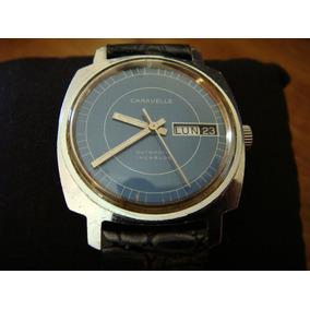 Reloj Caravelle By Bulova. Vintage Swiss Made. Años 70´s.