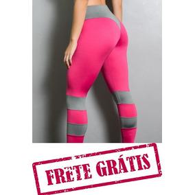 Calça Legging Fitness Roupas Academia Feminina Cintura Alta