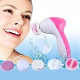 Cepillo Masajeador Giratorio Limpieza Facial 5 En 1 Calidad