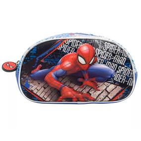 Cresko Cartuchera 3d Spiderman Escolar