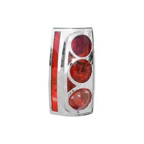 Putco 400828 Chrome Trim Tail Light Cover Por Putco
