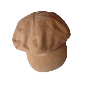 Boina Camurça Caramelo Chapéu Importado Eua Caqui Bege 57 Cm 66d14ad6bee