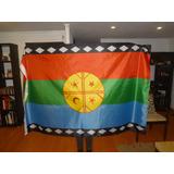 Bandera Mapuche Grande 180 X 120 ** Oferta **