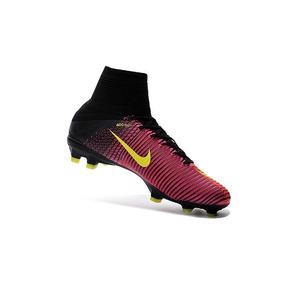 Chuteira Nike Mercurial Amarela E Laranja Adultos - Chuteiras no ... 209a6141cd047