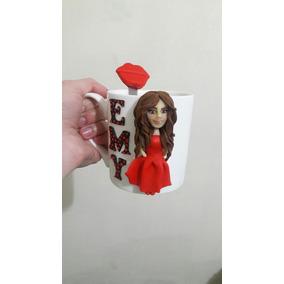 Taza En Porcelana Fria Personalizada