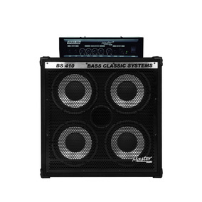 Kit Master Cabeçote Bs 200 + Gabinete Bs 410 Bass