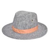 Sombrero Australiano Compañia De Sombreros Tela Cuero Gorro 04fa17e5c6f