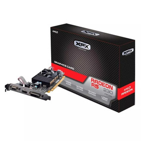 Placa De Vídeo Amd Xfx Radeon R5 230 2gb Ddr3, Low Prof