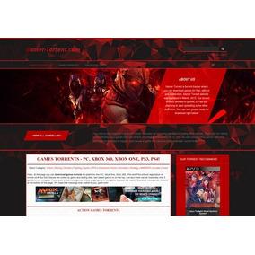 Criação De Site Para Gamers E Lojas De Informática