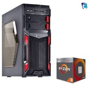 Pc Typhoon Ryzen R3 2200g A320m Hd 8gb Fury Bc350 Ssd120 I