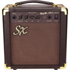 Sx Aga-1065 Amplificador Para Guitarra Acustica Vintage 10w