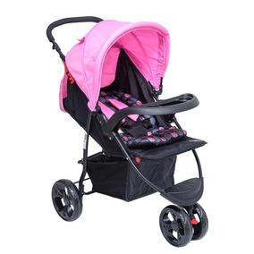Carrinho Para Bebê Triciclo Urban Rosa Baby Style