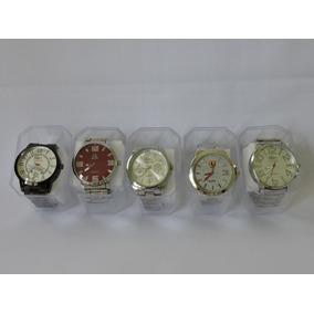 Kit 10 Relógios Masculino Novos Atacado+caixa Pronta Entrega