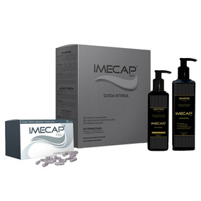 Kit Imecap Hair Queda Intensa X