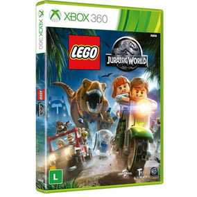Game Lego Jurassic World - Xbox 360(mídia Física)