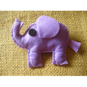dce9611499df5 Chaveiro De Elefante Feltro - Artesanato no Mercado Livre Brasil