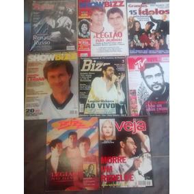 Coleção Lote Revistas Completas Legião Urbana Renato Russo
