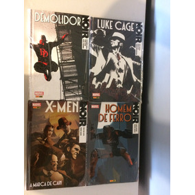 Marvel Noir - Homem De Ferro, Demolidor, X-men, Luke Cage