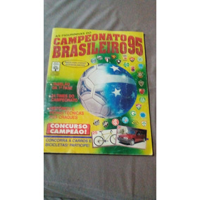 Album Campeonato Brasileiro 95 - Faltam 56 Figurinhas