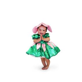 Disfraz De Flor Para Niña Primavera Zizoi Talla 10 Y 12