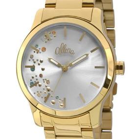 Relógio Allora Feminino Dourado Al2036ca/4b - Nota Fiscal