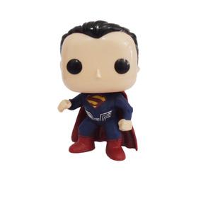 Boneco Funko Pop Cabeçudos Herois Superman Réplica