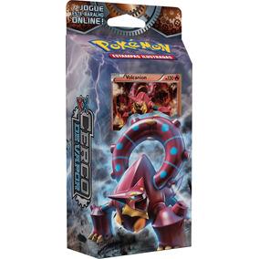 Deck Pokemon Xy11 Cerco De Vapor Engrenagens De Fogo Volcani