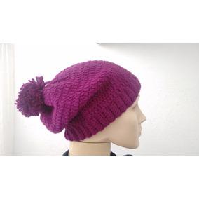 Gorro Crochê Lã Com Pompom Moda Blogueira Cores 7c608895f65