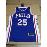 f362fb2b78 Camisa Philadelphia 76ers Butler Simmons Nba 2018 Nike