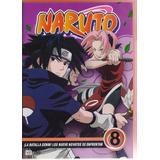Naruto La Batalla Genin Los Nueve Novatos Disco 8 Dvd