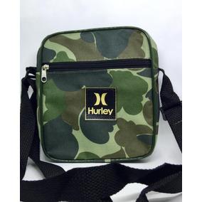 Shoulder Bag Hurley Camuflada Bolsa Transversal Pochete a2ad3e006dd