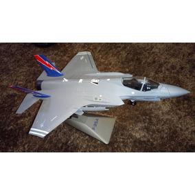 F-35b Lighting Ii Avião Miniatura Perfeita Em Metal Fundido