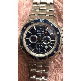 b3bbb2908dd Relogio Bulova Marine Star Wb30686a - Relógios no Mercado Livre Brasil