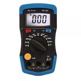 Capacimetro Digital Mc-154a Minipa Nova Versao Capacitor Top