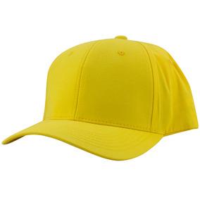 Boné Amarelo Aba Curva Supercap Strapback Amarelo Original 5d47ecc89b3